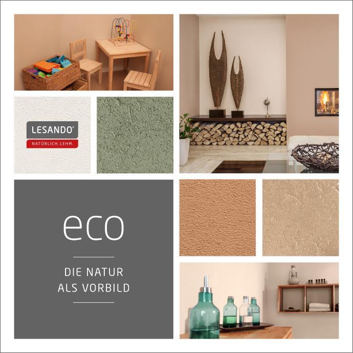 Brillant Maler Cottbus LESANDO Lehmputz Lehmfarbe eco